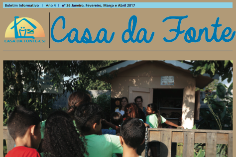 Boletim Informativo Casa Da Fonte | Jan à Abril 2017
