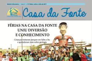 Boletim Informativo CDF I Ano 4 I Ed. 27 I Maio à Julho de 2017