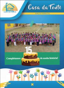 Boletim Informativo Casa Da Fonte | Especial 15 anos
